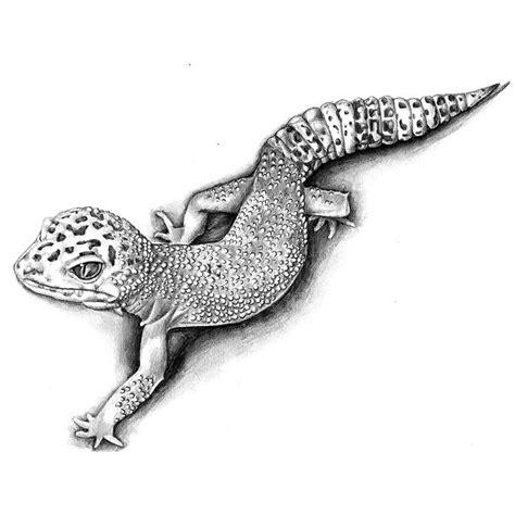 best gecko tattoo sketch