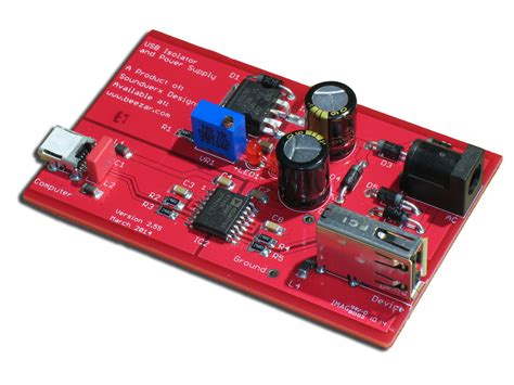 doodlebug usb isolator doodlebug pcb beezar audio