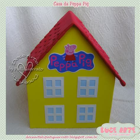 casa pepa pig doce arte by pati guerrato casa da peppa pig