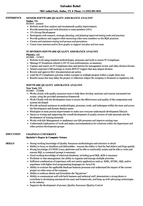 data qa analyst job description resumes free best resume