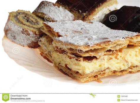 eclair kuchen verschiedene kuchen stockfoto bild zucker eclair