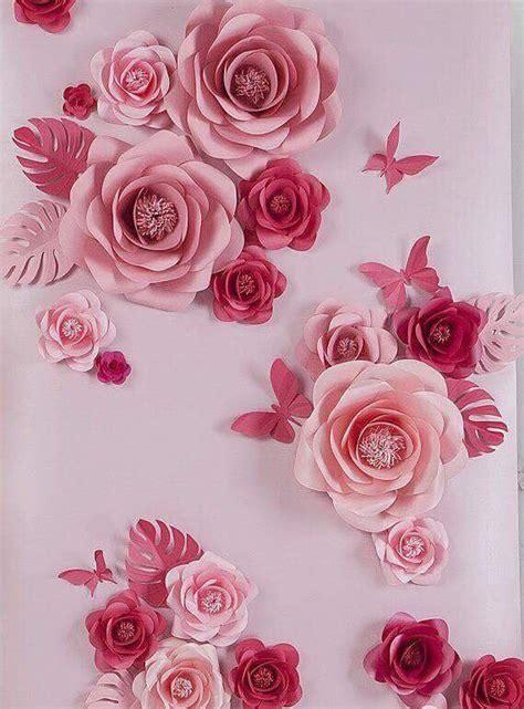 imagenes de flores grandes de papel 18 ideas f 225 ciles y hermosas para decorar con flores de