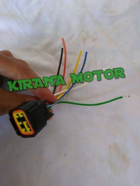 jual kabel socket soket cdi satria fu  lapak kirana motor amorakirana