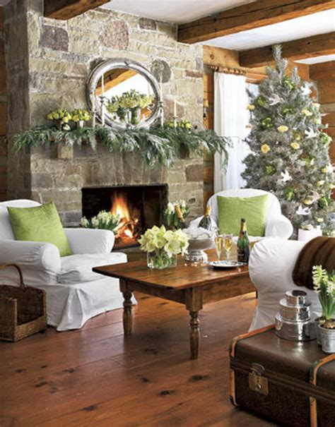 holiday home interiors white christmas decorating ideas