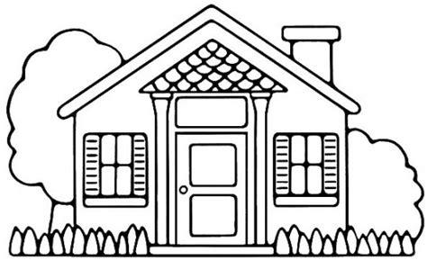 imagenes de casas lindas para dibujar casa para colorear