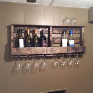 How To Make A Wine Rack In A Kitchen Cabinet How To Make A Pallet Wine Rack Diy Pallet Wall Decor Woodworking Projects