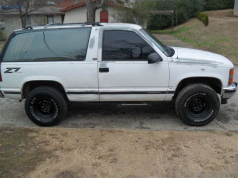 small engine service manuals 1993 chevrolet s10 blazer auto manual purchase used 1993 full size chevrolet z71 blazer 4x4 in chattanooga tennessee united states