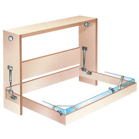 murphy bed frame murphy bed frame building ideas pinterest