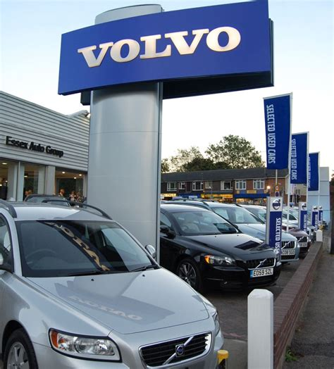 volvo dealers volvo grows dealer network in chesterfield and billericay