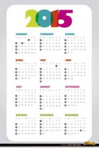 2015 Calendar Templates Free by Calendar 2015 Vector Design Template Vector Free