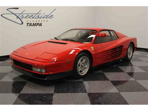Ferrari Testarossa For Sale by 1986 Ferrari Testarossa For Sale Classiccars Cc 730488