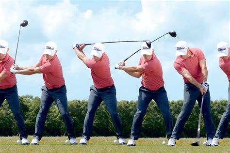 golf swing sequence swing sequence bud cauley australian golf digest