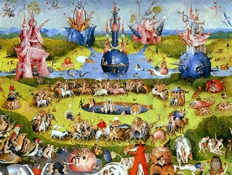 trittico giardino delle delizie il giardino delle delizie il giardino delle delizie di