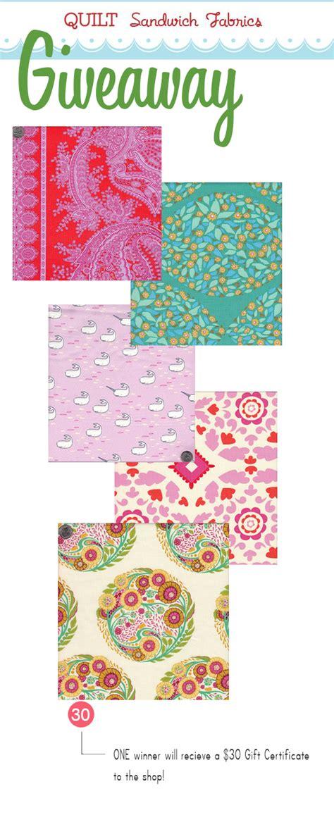 Giveaway Fabric - giveaway 4 quilt sandwich fabrics sarah jane studios