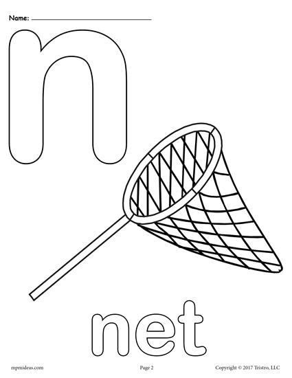 Lowercase N Coloring Page by Best 25 Letter N Ideas On Preschool Letter