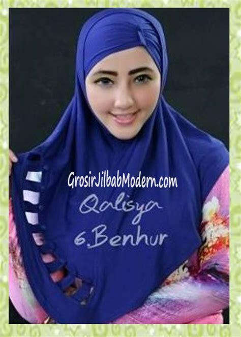 Jilbab Instan Qalisya jilbab syria modis nuha original by qalisya no 6 benhur grosir jilbab modern jilbab cantik