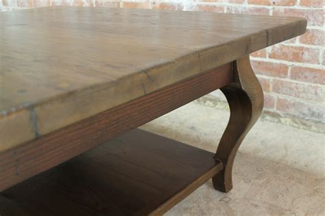 42inch square farmhouse coffee table ecustomfinishes