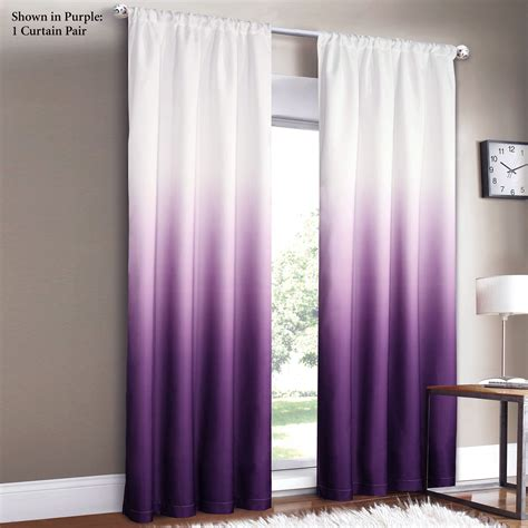 curtains purple and white 4 styles of purple blackout curtains
