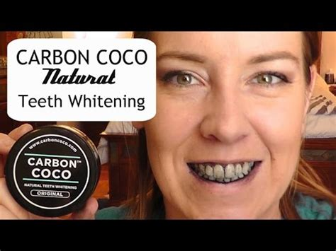 carbon coco natural teeth whitening  min review