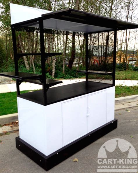 vendor cart mobile vending carts or kiosks custom design outdoor units by cart king