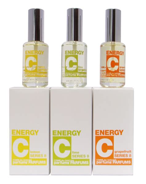 Parfum Gatsby Cologne Energy energy c lemon comme des garcons perfume a fragrance for