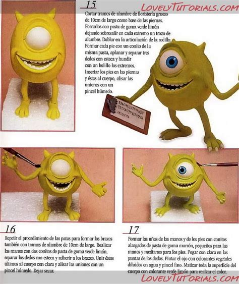 tutorial menggambar monster inc 25 best images about clay pixar monsters inc on pinterest