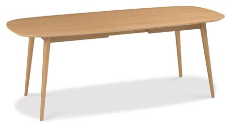 8 Seater Oak Dining Table Oslo Oak 6 8 Seater Extension Dining Table Oak Furniture Solutions