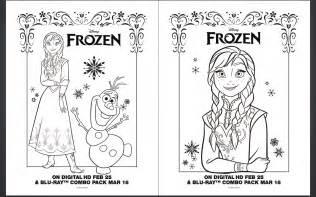 free coloring pages frozen paint