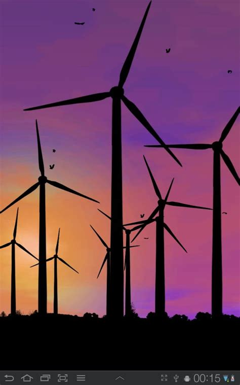 Wind Turbine Live Wallpaper Android