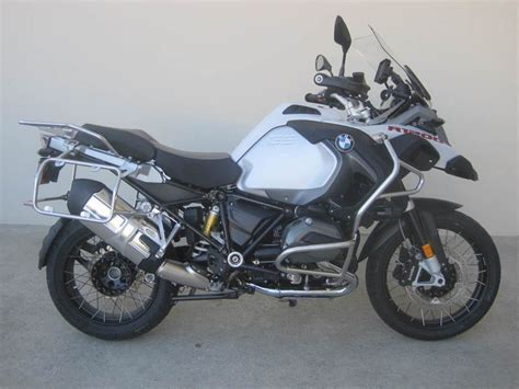 light motorcycles for sale bmw r 1200 gs adventure premium light white motorcycles