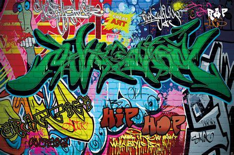 Wall Stickers Boys Bedroom graffiti photo wallpaper street art graffiti wallpaper