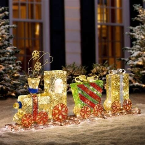 Ebay Outdoor Decorations by Led Lighted Yard Decor New Ebay