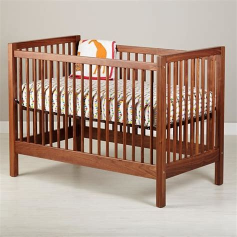 American Walnut Andersen Baby Crib Traditional Cribs Walnut Baby Crib