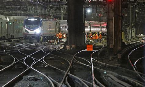 Repair Nyc by The Penn Station Repairs Begin Amid Nyc Hour