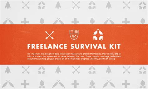 survival kit template freelance survival kit freelance graphic design tools