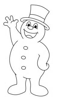 frosty the snowman coloring pages frosty the snowman drawing lesson