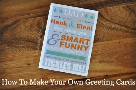 how to make your own greeting cards with photos the world s catalog of ideas