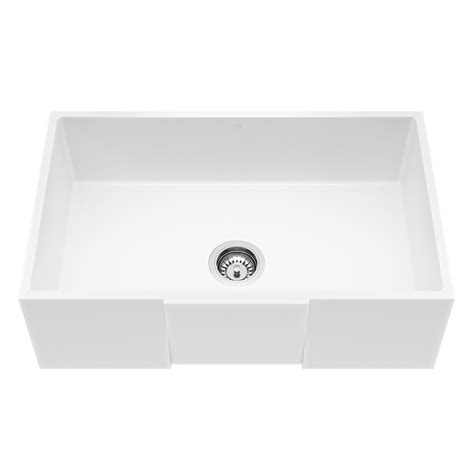 matte farmhouse sink vigo farmhouse apron front matte 30 in single bowl