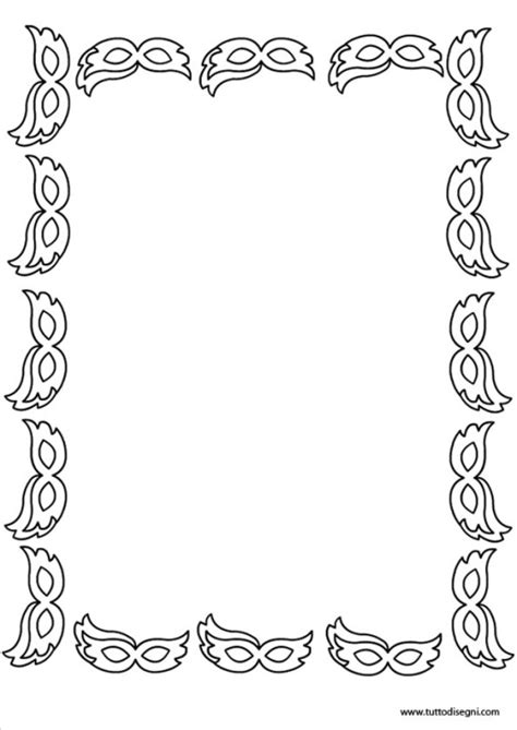 cornici carnevale carnevale archives pagina 2 di 2 tutto disegni