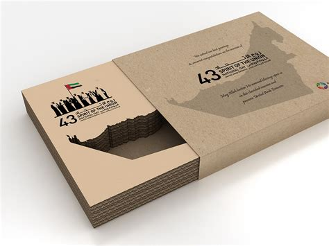 Uae National Day Giveaways - sustainable giveaway box 43rd national day uae on behance