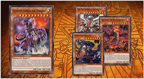 true king dinosaurs  ygoprodeck