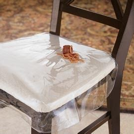 chair protector heavy duty clear plastic chair seat cover