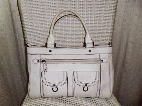 Harga Beg Reebok yus branded bag authentic tocco white leather handbag
