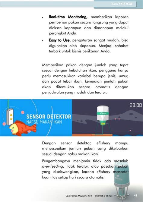 Pemberi Pakan Udang Otomatis e magazine codepolitan perkembangan of things