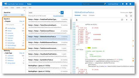 Code Search Team Fundation Server 2017 Rtw