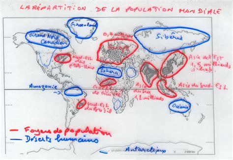 11 foyer de population o 249 sont les hommes sur la terre 6e 2010 histoire