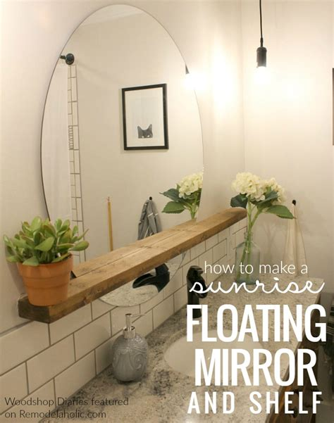Renovation Bathroom remodelaholic how to make a modern quot sunrise quot floating