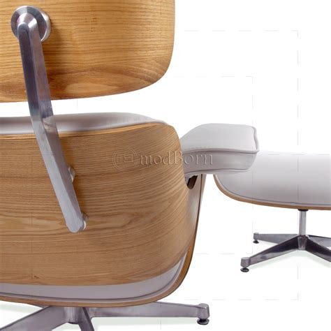 eames leather chair and ottoman eames style lounge chair and ottoman white leather