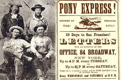 Pony Express the history of the pony express farmers almanac