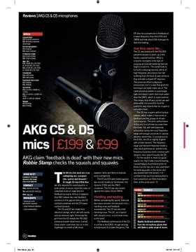 Akg D5 Microphone Black akg d5 thomann uk